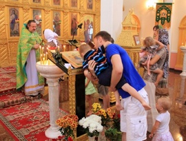 Celebration of the Feast of Pentecost at Holy Trinity, Phuket