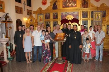 Participants of the Church-wide Orthodox meeting in All Saint's Church in Pattaya