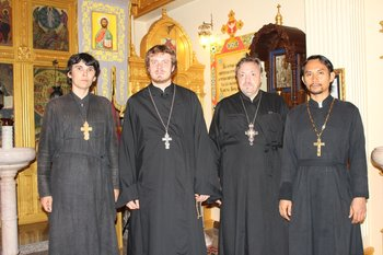 Orthodox clergy serving in Thailand