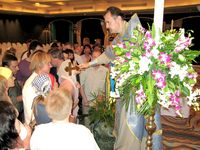 Christmas Eve. Divine service in «Royal Cliff» hotel. January 06, 2008