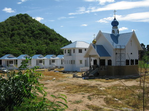 Progress on the construction of the temple in honor of the Holy Dormition of the Mother of God in Ratchaburi province (June 2010)